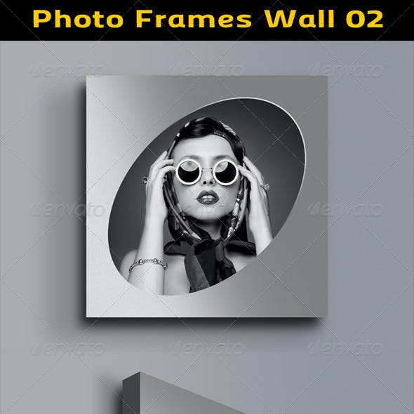 Photo Frames Wall 02