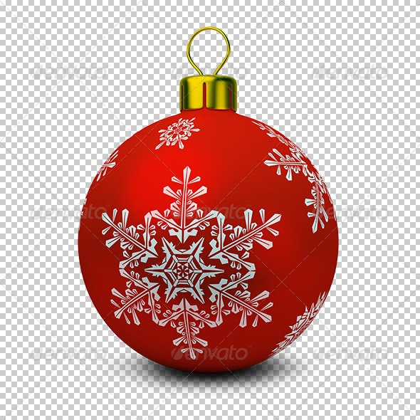 Christmas Ball - Objects 3D Renders