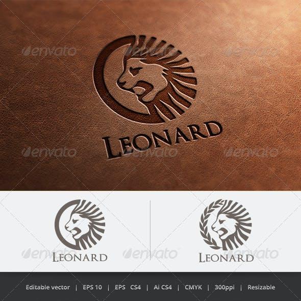 Leonard Lion Logo