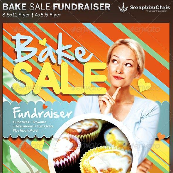 Bake Sale: Church Fundraiser Flyer Template
