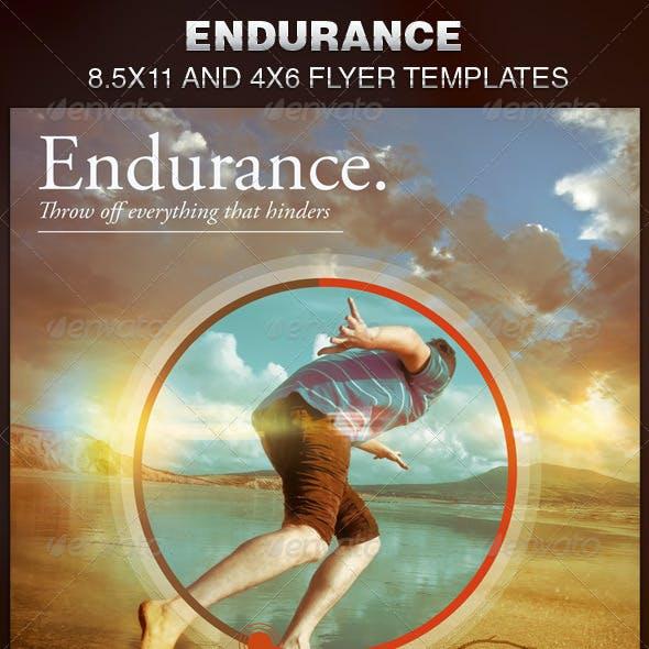 Endurance Church Flyer Template