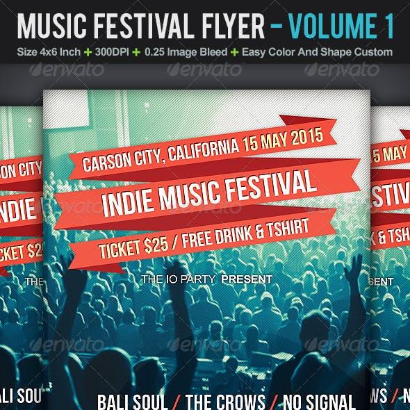 Music Festival Flyer | Volume 1