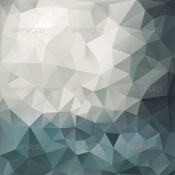Abstract Multicolored Triangle Background