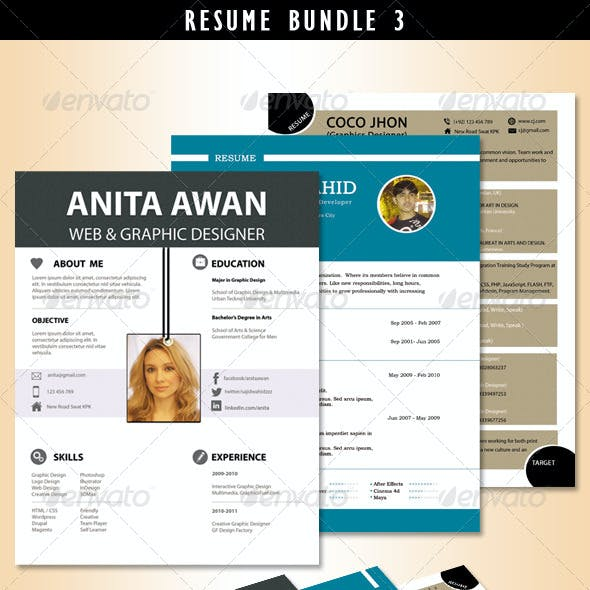 Resume Bundle no.3