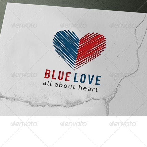 Blue Love Logo