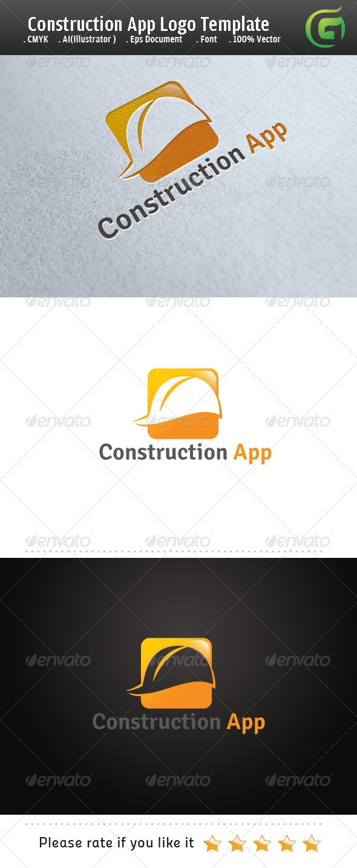 Construction App Logo - Buildings Logo Templates