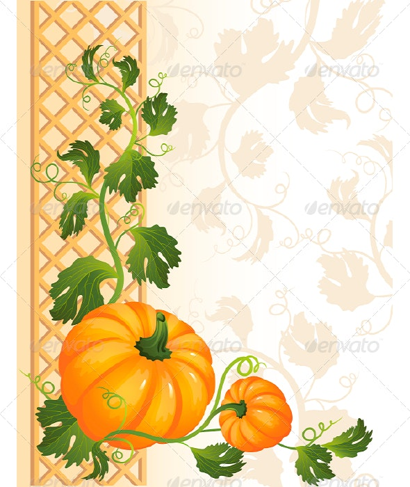 Pumpkin - Backgrounds Decorative