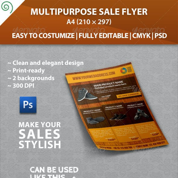 Multipurpose Sale / Promotion Flyer Template
