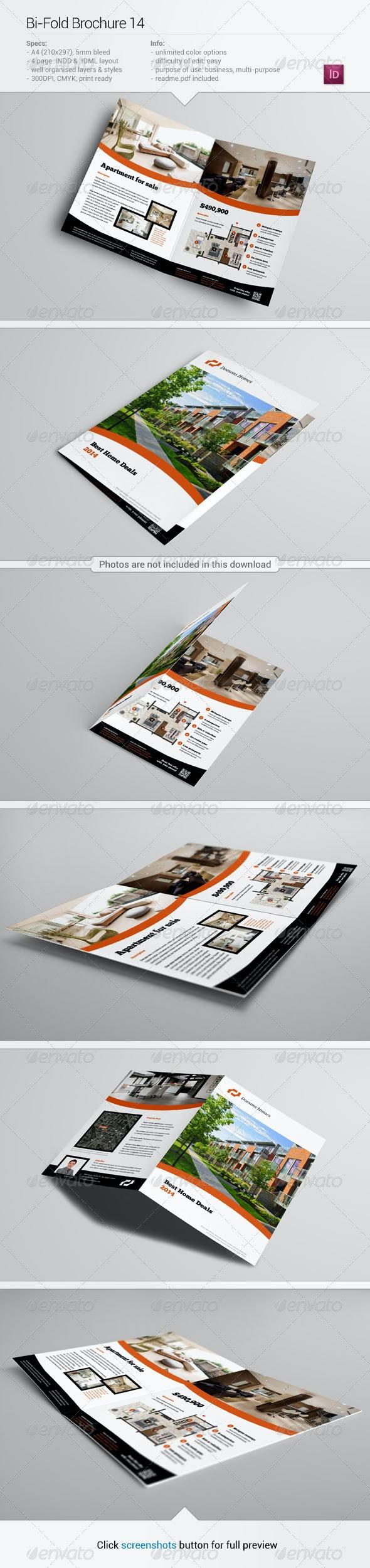 Bi-Fold Brochure 14 - Informational Brochures