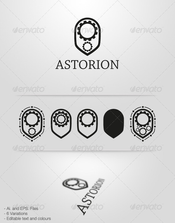 Astorion - Logo Template - Objects Logo Templates