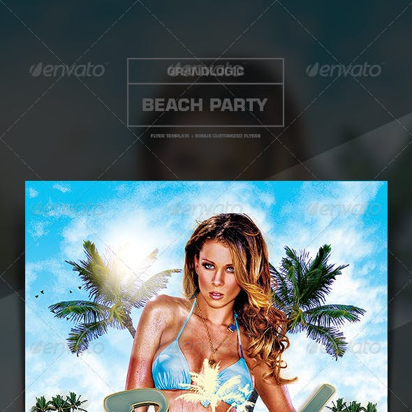 Beach Party Flyer/Poster