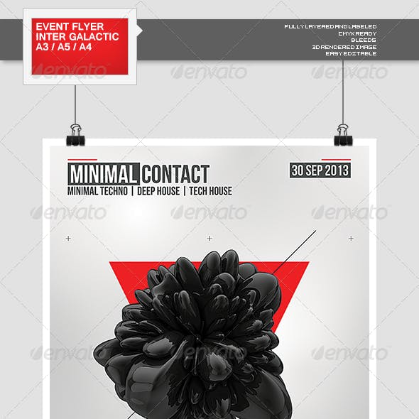 Flyer - Poster: Minimal Contact
