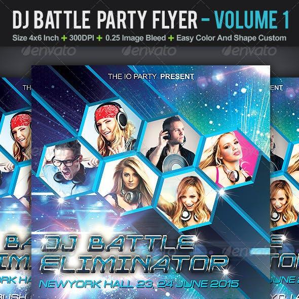DJ Battle Party Flyer | Volume 1