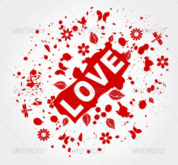 Love abstraction - Valentines Seasons/Holidays