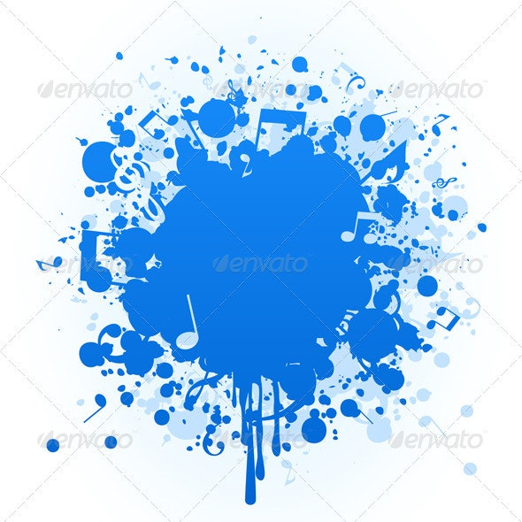 Musical stain - Miscellaneous Vectors