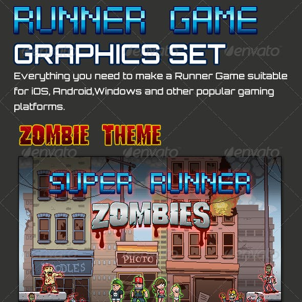 Runner Game Graphics Set