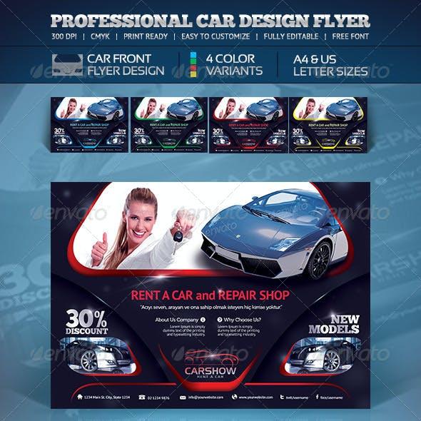 Creative Car Flyer