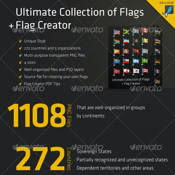 Ultimate Collection of Flags + Flag Creator by Rukami