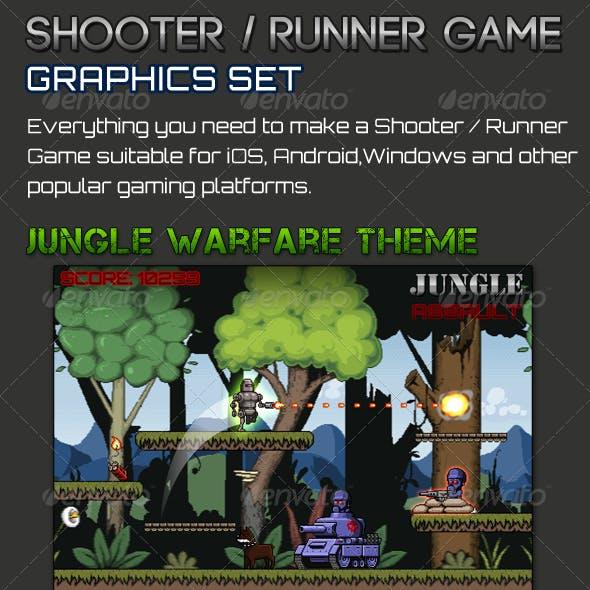 Shooter/Runner Game Graphic Set