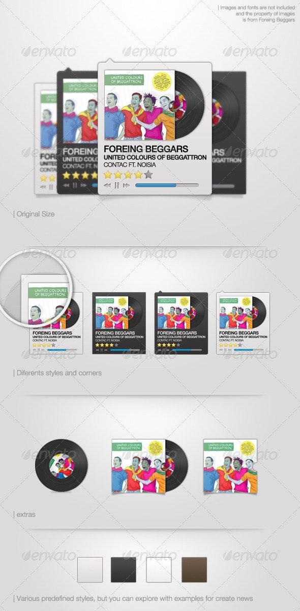 Basic Music Player - Miscellaneous Web Elements