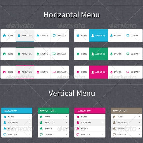 Clear Style Web Navigation