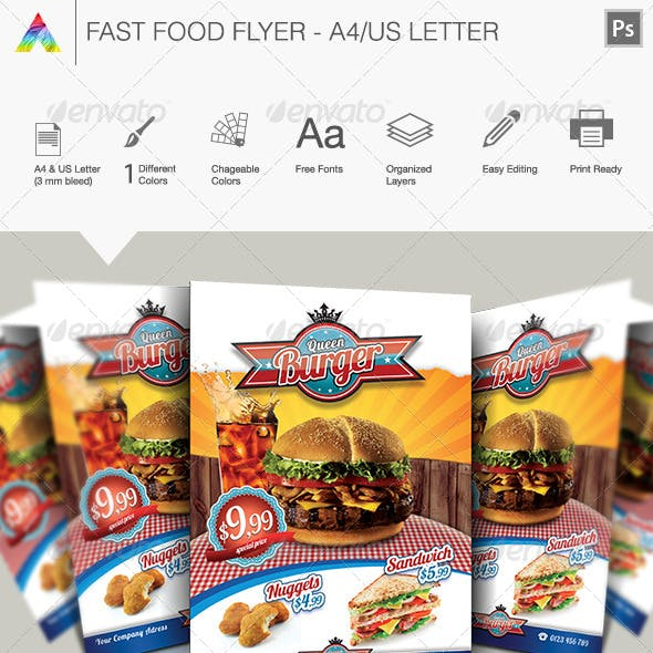 Fast Food Flyer I