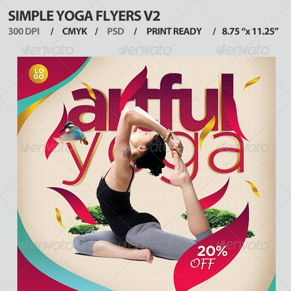 Simple Yoga Flyers V2