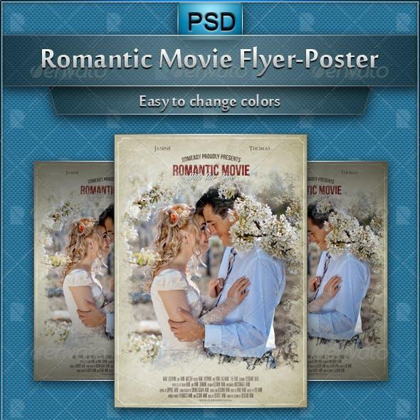 Romantic Movie Flyer-Poster