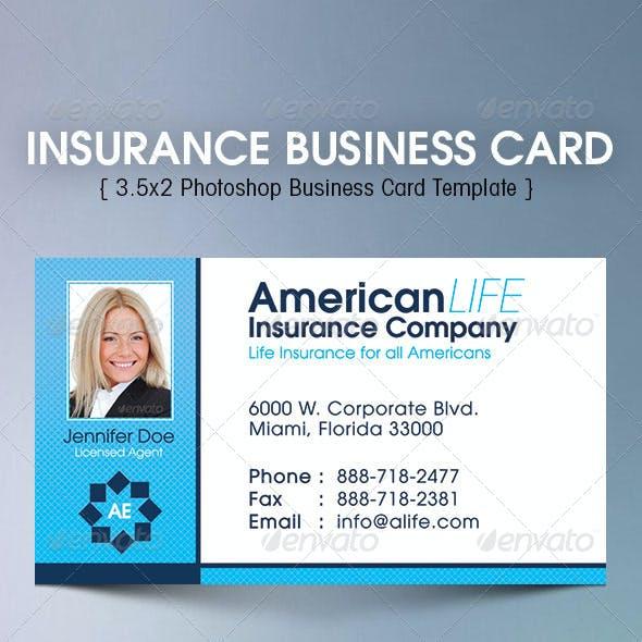 Insurance Business Card