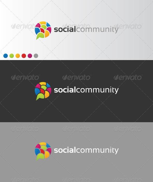 SocialCommunity - Symbols Logo Templates