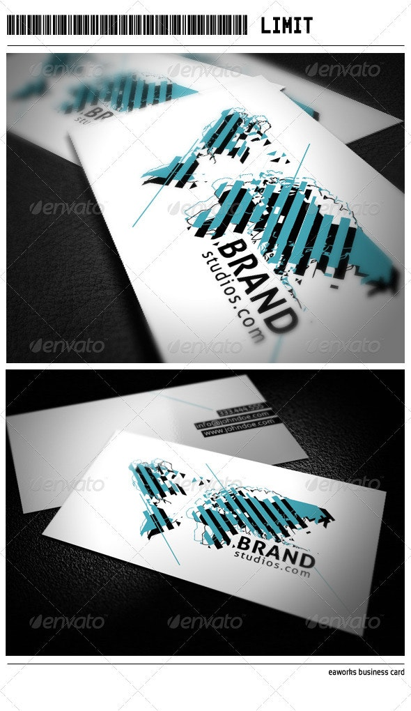 Limit Business Card - Creative Business Cards