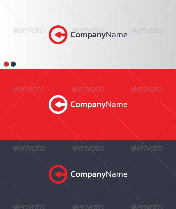 CompanyName 2 - Letters Logo Templates