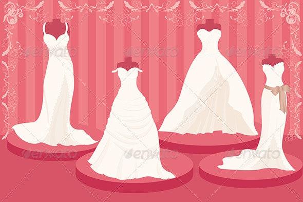 Wedding Dresses - Weddings Seasons/Holidays