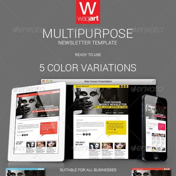 Multipurpose E-Newsletter