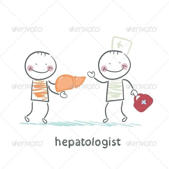 Hepatologist Cured Patient Liver