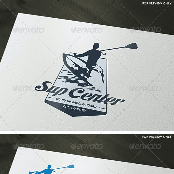 Sup Center Logo Template