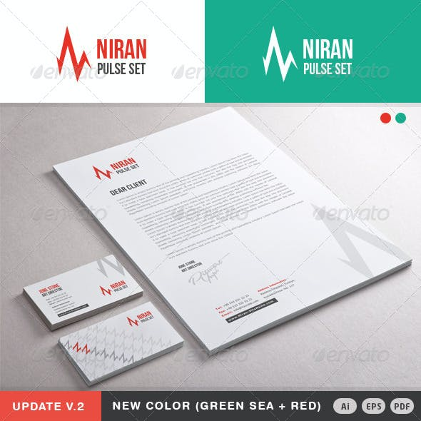 Niran Pulse Stationery
