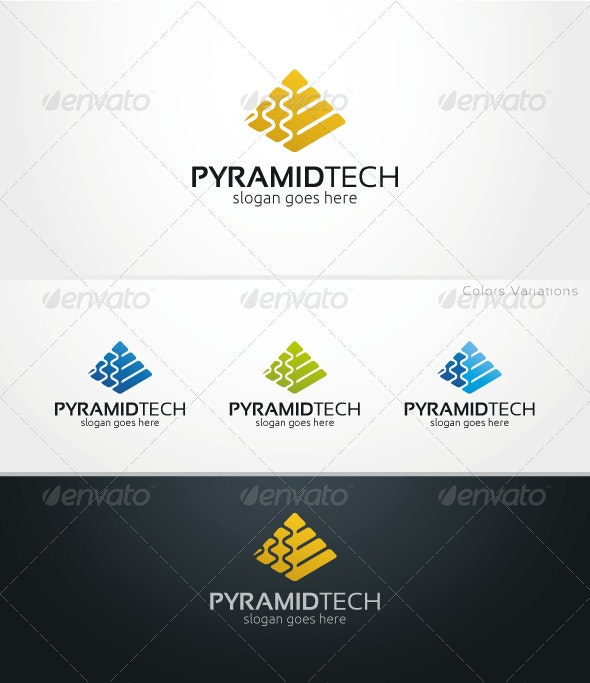 PyramidTech - Logo Template - Objects Logo Templates