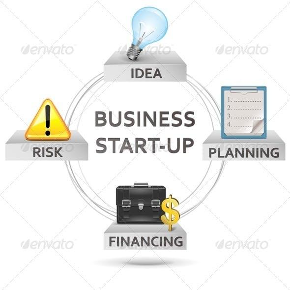 Vector Start-up Concept