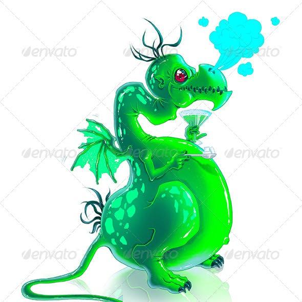 Bitmap Absinthe Dragon