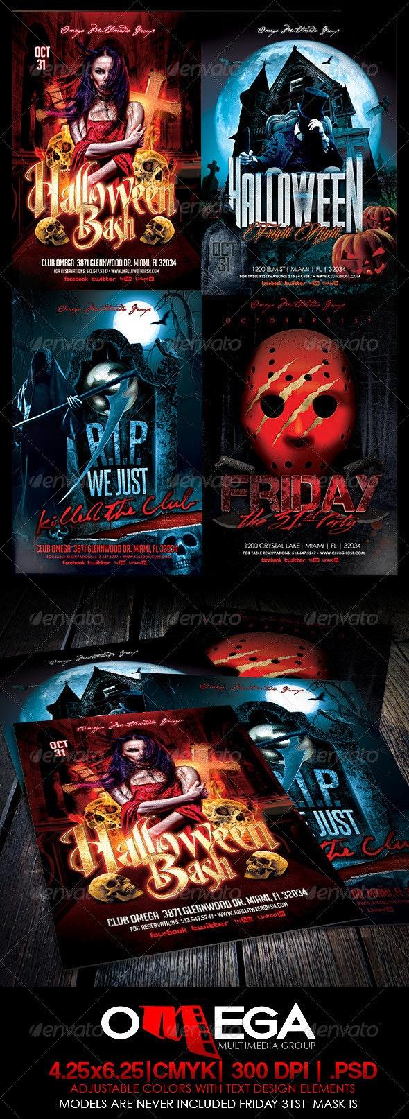 Halloween Bundle 2013 - Holidays Events