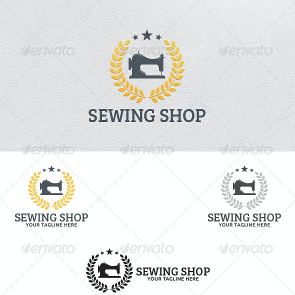 Sewing Shop - Logo Template