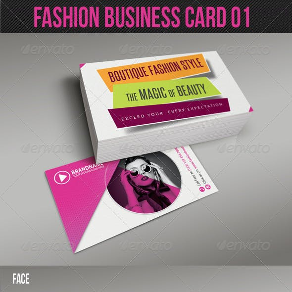 Fashion Business Card 01