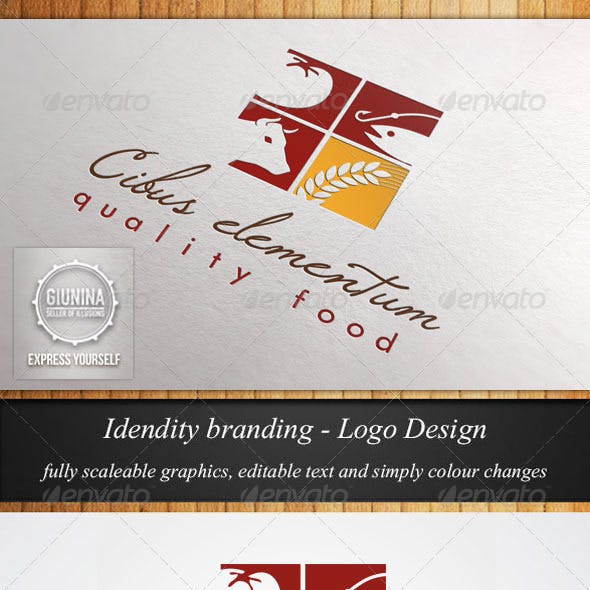 Food Catering Logo Template