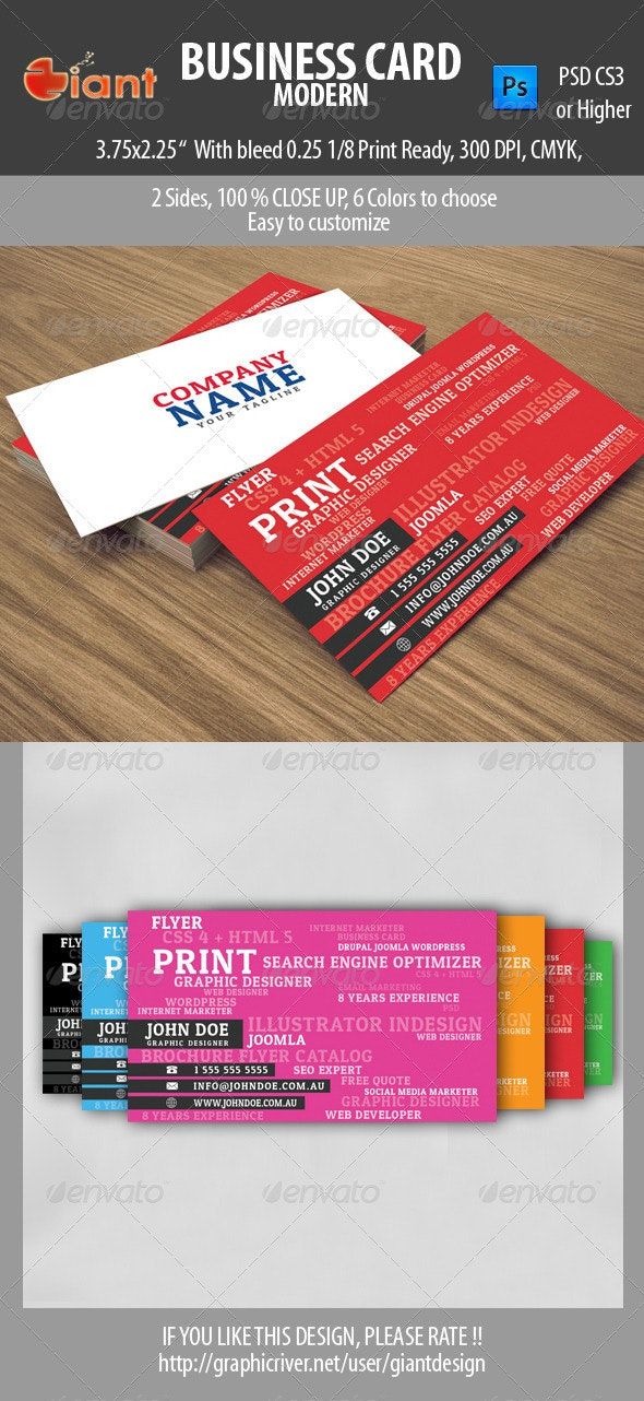 Business Card Modern - Creative Business Cards