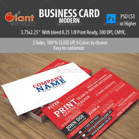 Business Card Modern