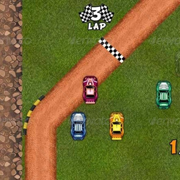 2D HQ Racing Game Pack
