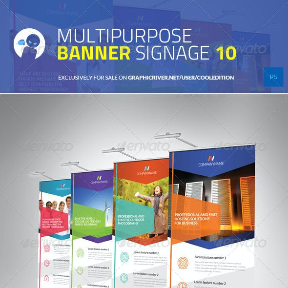 Multipurpose Banner Signage 10