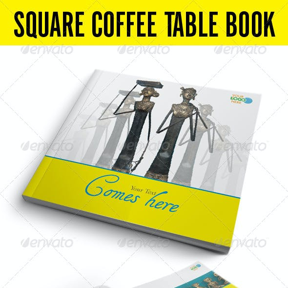 Square Coffee Table Book