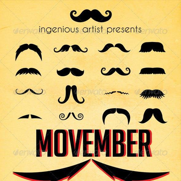 Movember Flyer Vol.1
